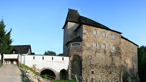 Die Burg Wildstein in Skalná