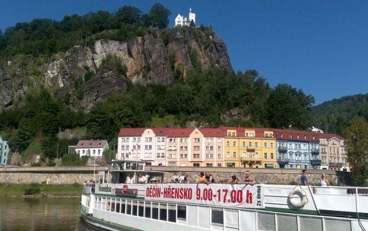 Výletní lodí po Labi z Děčína do Saska
