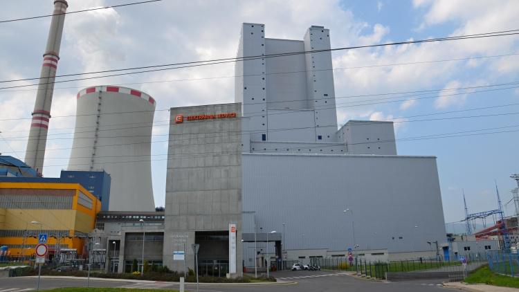 Informační centrum elektrárny Ledvice s vyhlídkou z nejvyšší budovy v ČR
