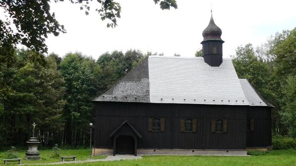 Přesunutý dřevěný kostel svatého Jana Křitele
