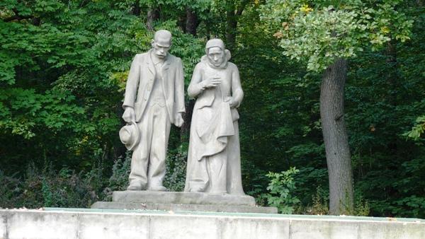 Denkmal die Katastrophe am Schacht Nelson III