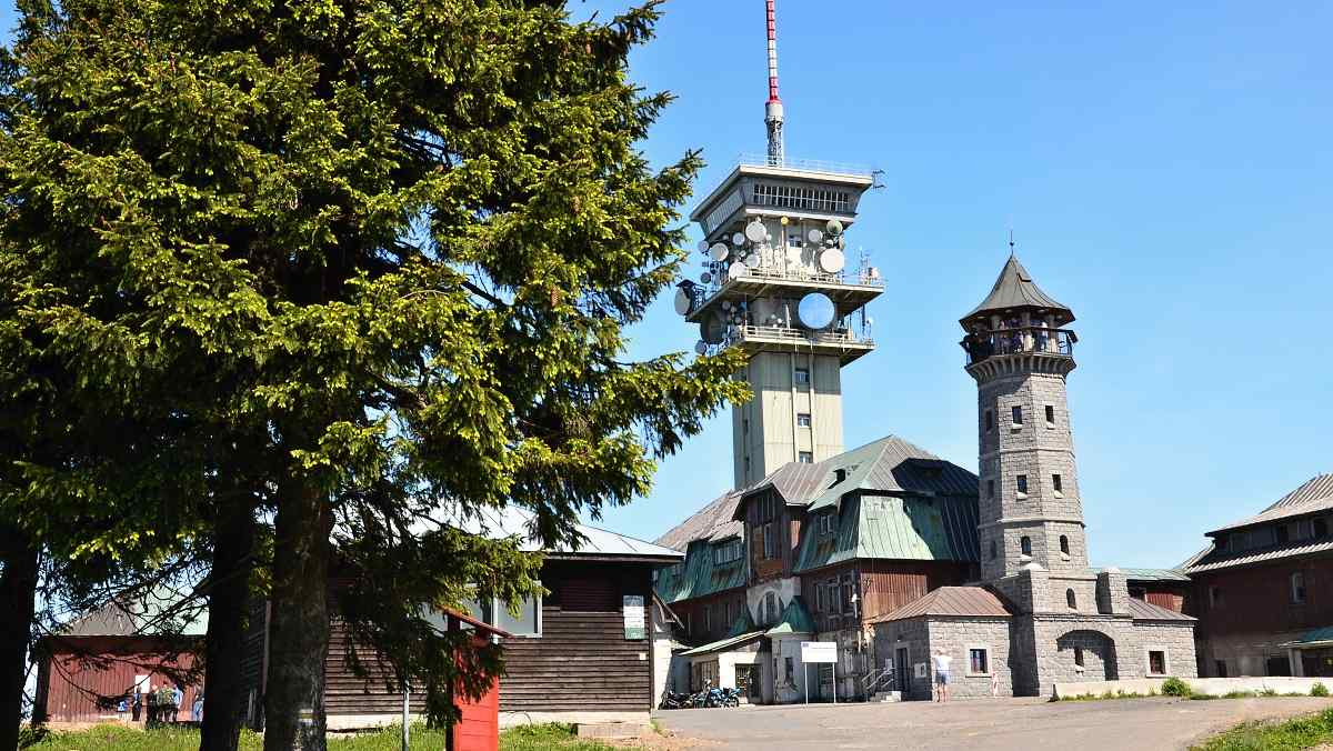 Klínovec, 1244 m.n m.