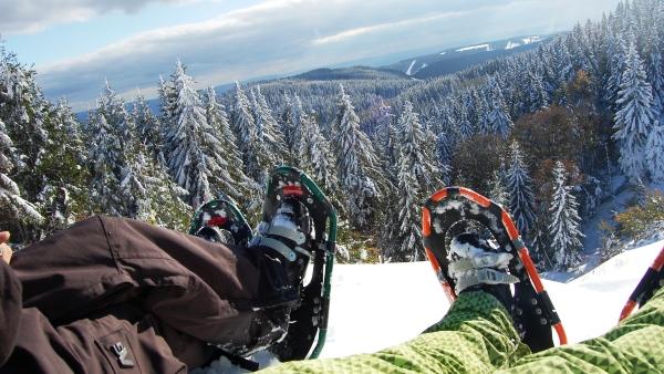 Po stopách Yettiho - aneb na sněžnicích tam a zpátky