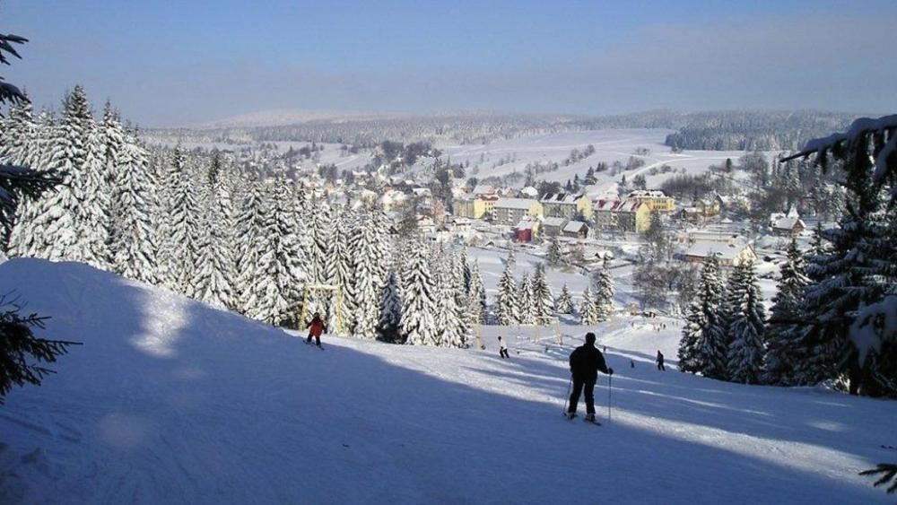 Skiareál Pernink Nad nádražím