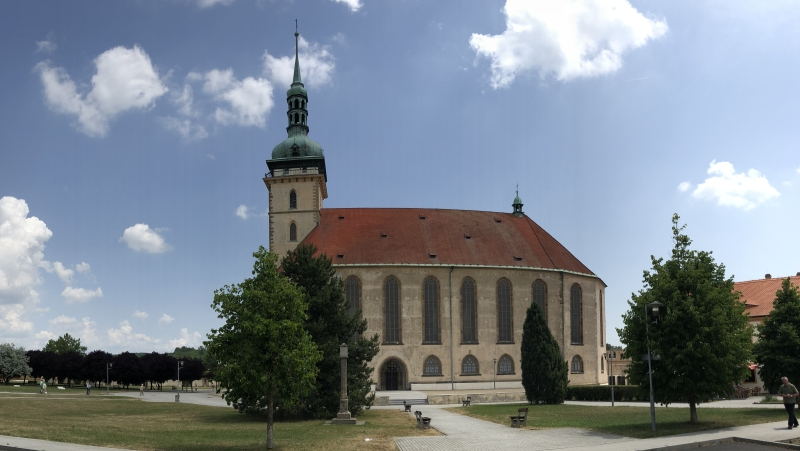 Dechanalkirche in Most (Brüx)