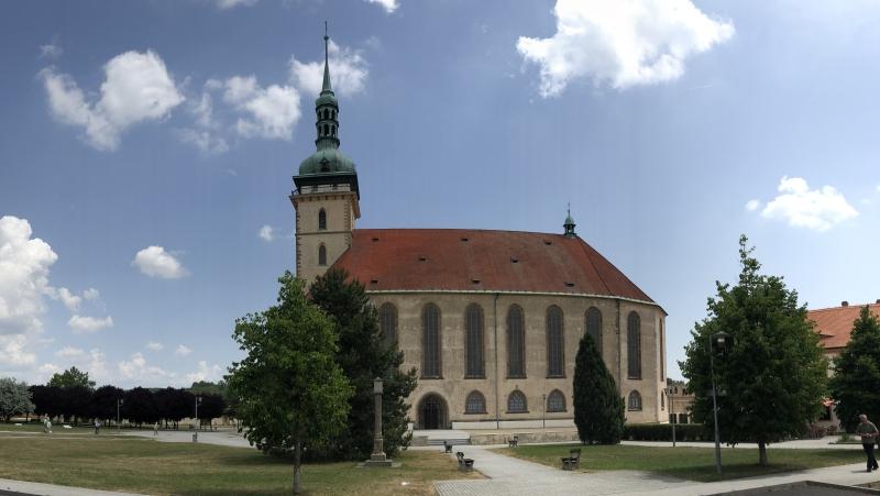 Přesunutý gotický kostel Nanebevzetí panny Marie