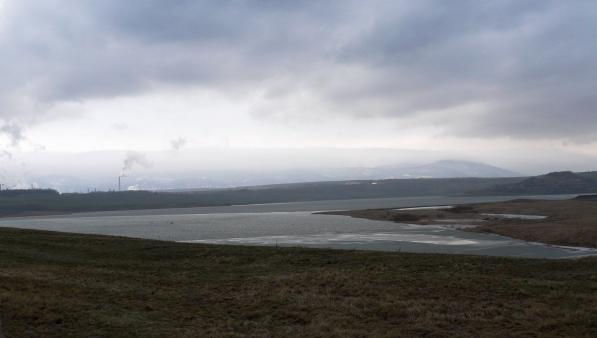 Vzniká nové jezero Ležáky Most