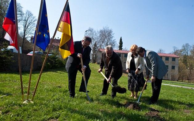 Vejprty a Bärenstein staví společné náměstí