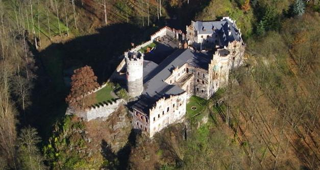 Horní Hrad (Hauenštejn)  |  ---