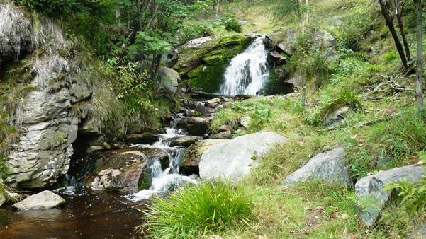Vodopád Nivského potoka