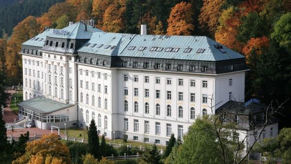 První radonové lázně světa - Radium Palace Jáchymov