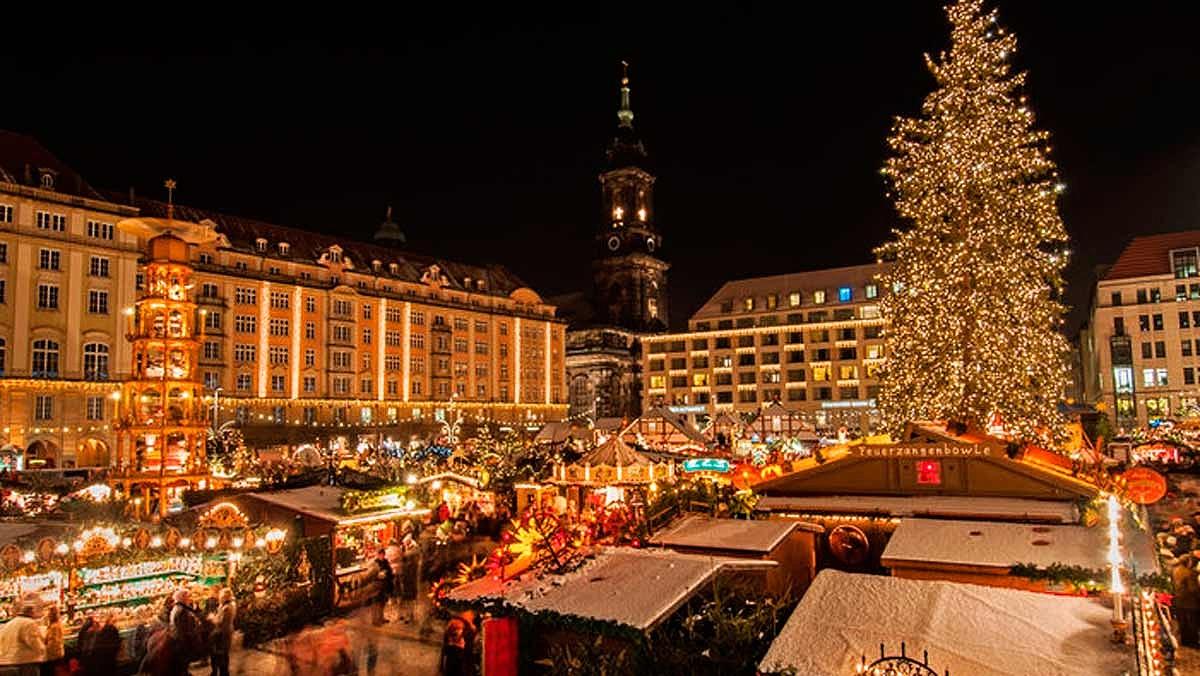 Vánoční trhy a nákupy v Drážďanech