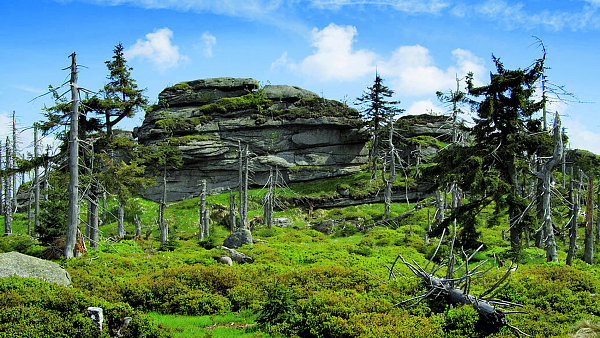 Před 20 lety byly plné škodlivin, dnes jsou Krušné a Jizerské hory nejčistší v republice
