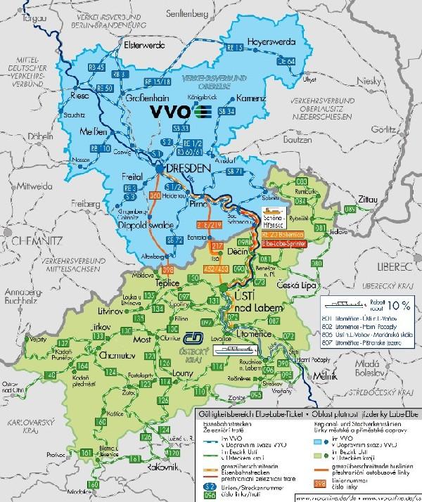 Celý den po Ústeckém kraji, v Drážďanech a okolí (jízdenka Regionet)  |  -