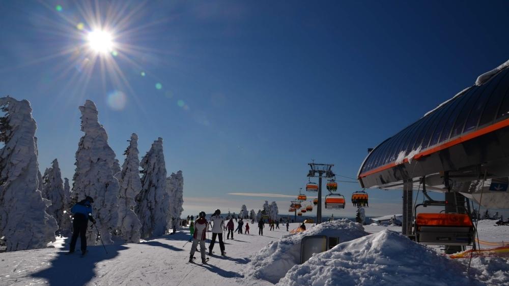 Skiareal Klinovec