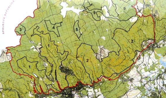 Der Naturpark Loučenská hornatina
