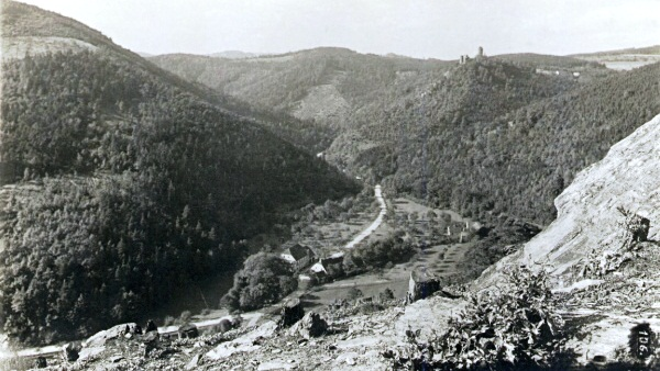 Prunéřovské údolí Tal