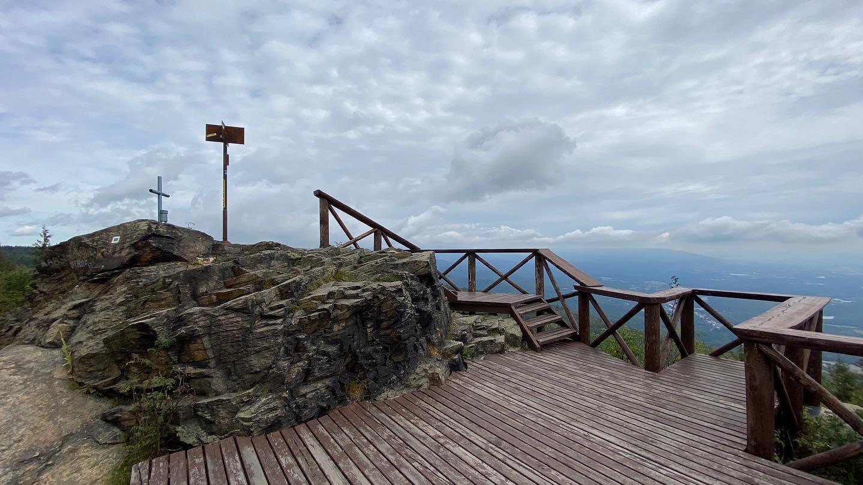 Der Berg Stropník (Strobnitz)