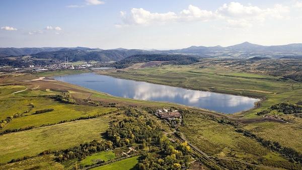 Jezero Milada  |  letadýlko Káně