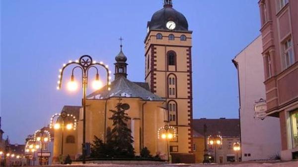 Městská věž v Jirkově
