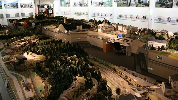Model krušnohorské železnice