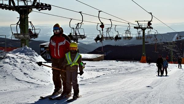 Ski Zentrum Boží Dar - Neklid