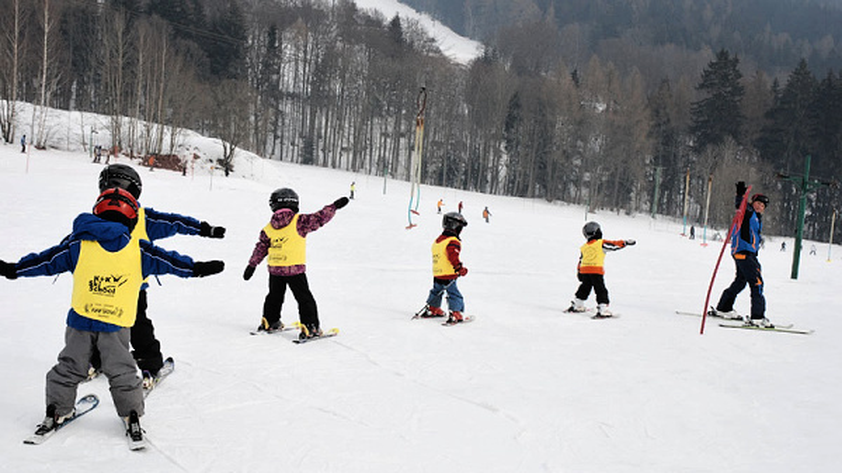 Skischulen im Erzgebirge