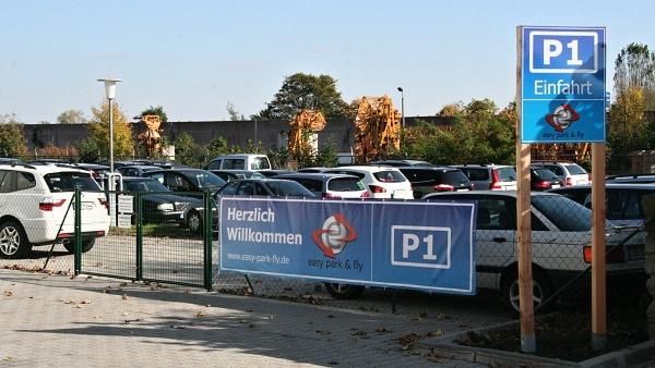 Parkování v Drážďanech