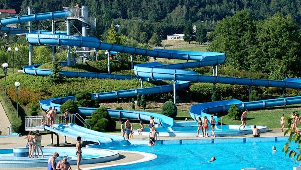 Aquapark im Klášterec