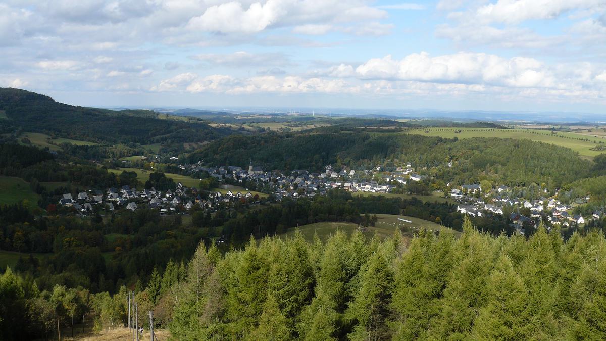 Výhled z Kohlhaukuppe | Krušnohorci
