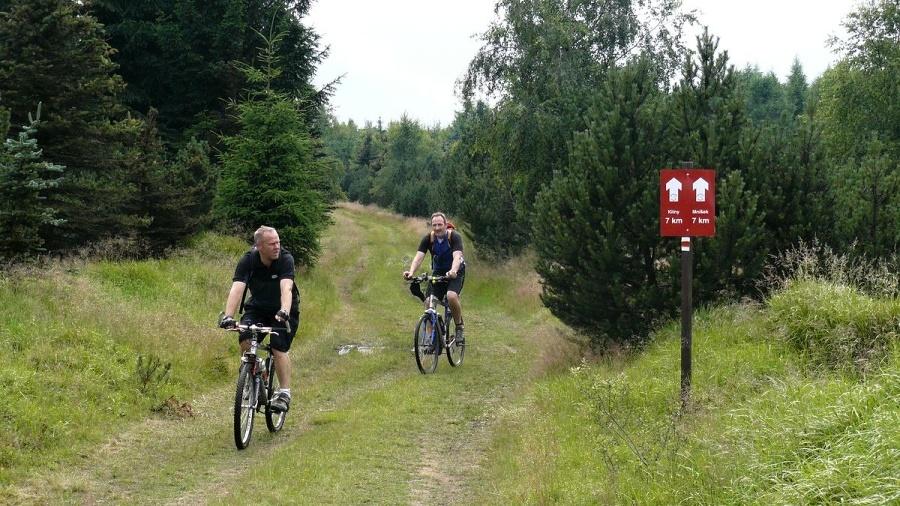 Příjemné ježdění i na kole | Krušnohorci
