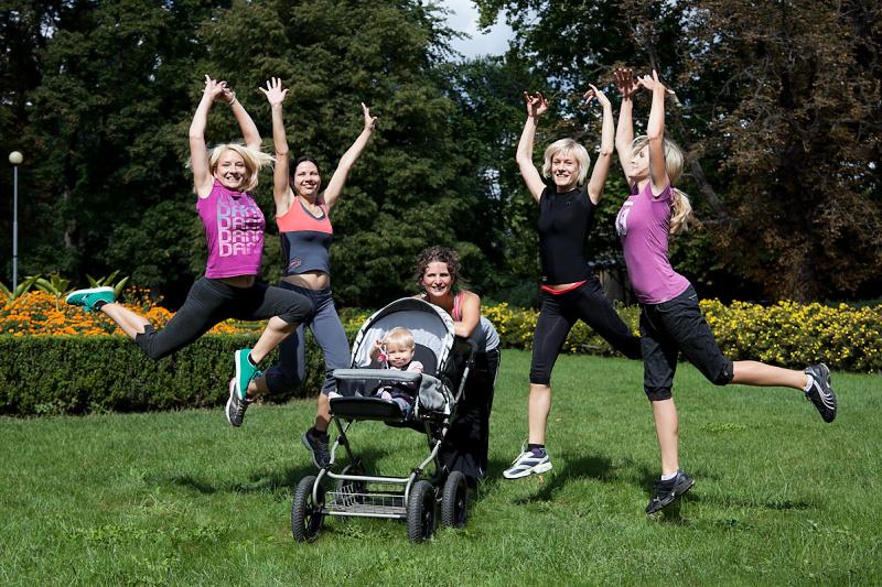 Strollering - mateřská v pohybu