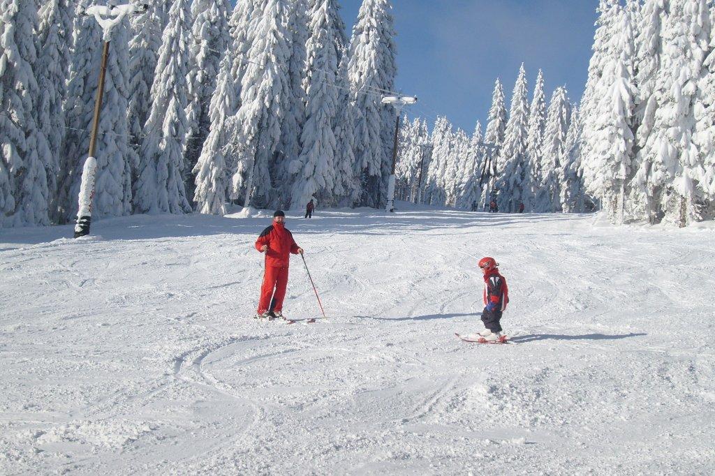 Skiareál Pernink - Nad nádražím