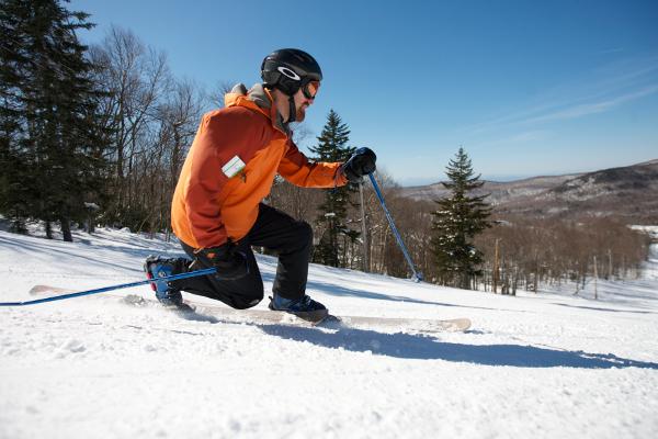 Kurz telemarkového lyžování