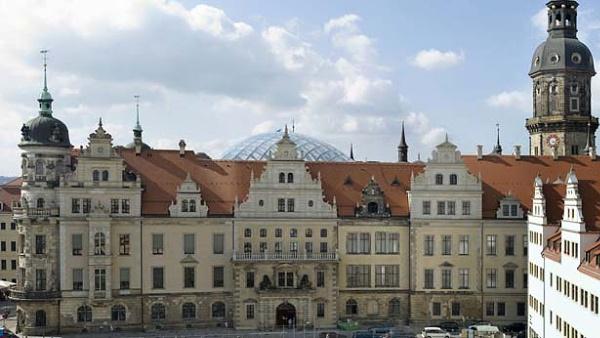 Rezidenční zámek v Drážďanech
