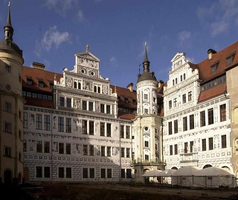 Rezidenční zámek v Drážďanech | www.schloesserland-sachsen.de | -