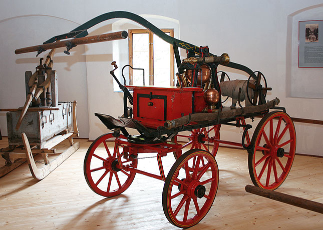 Muzeum hasičské techniky, Hrad Vildštejn, Skalná u Chebu