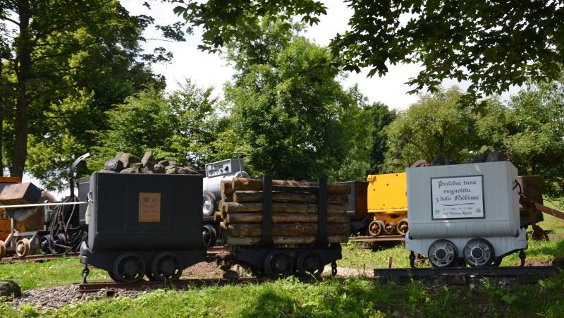 Mini muzeum hornictví a života na Měděnci