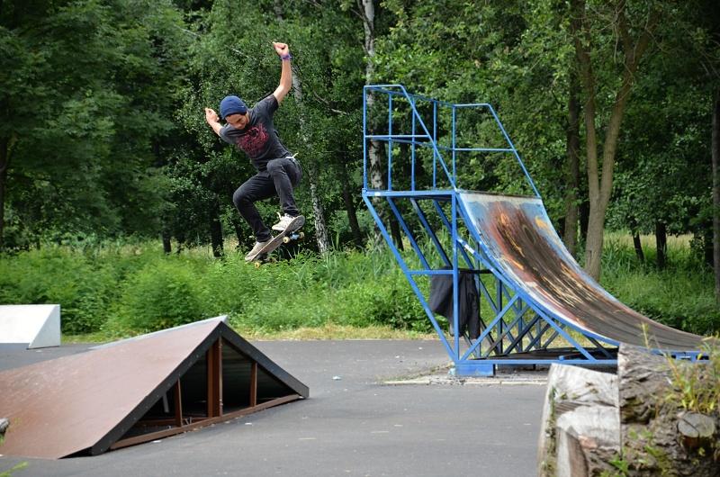 Skate parčík | Krušnohorci