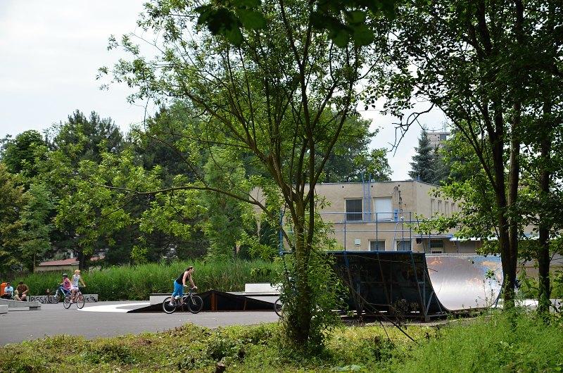 Skate park Bažantnice, Duchcov