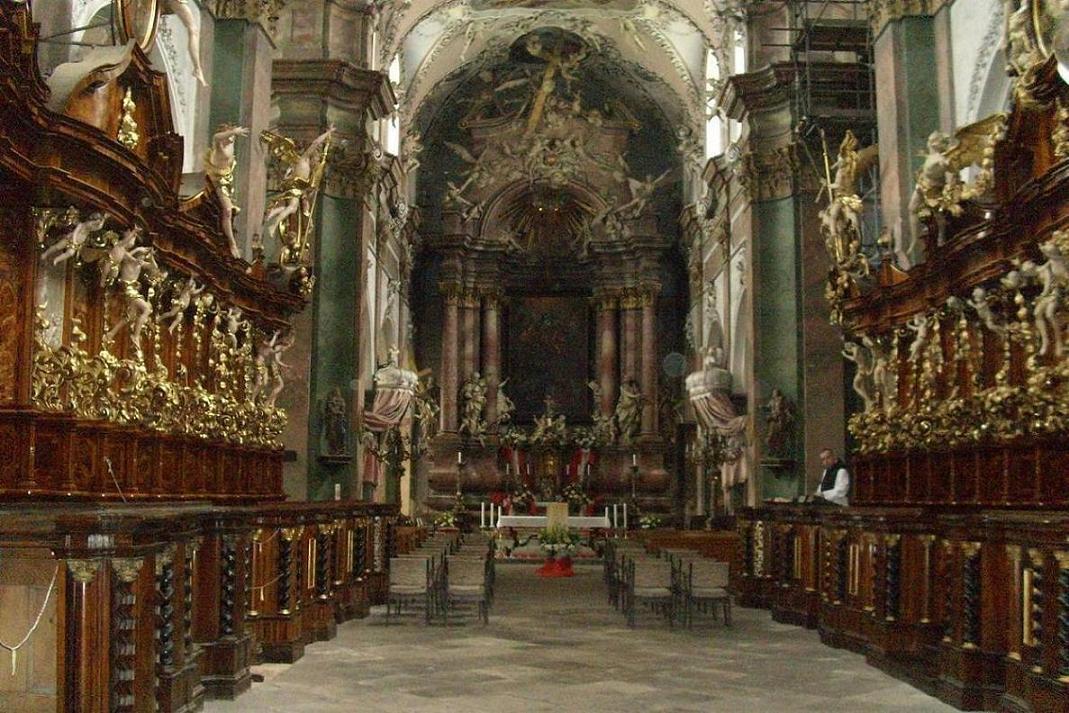 Kostel v Oseckém klášteře
