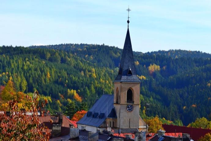 Oloví, kostel | Naučná stezka Oloví