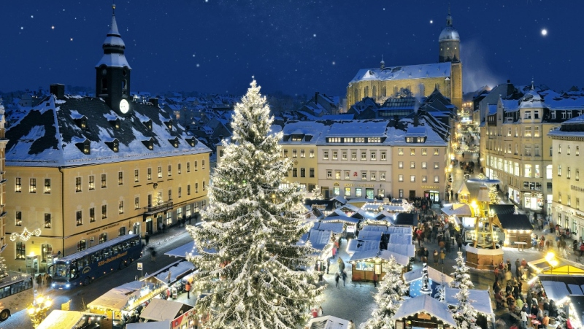 Vánoční trhy v Krušných horách