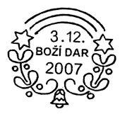 Ježíškova pošta 2007   Česká pošta, a.s.