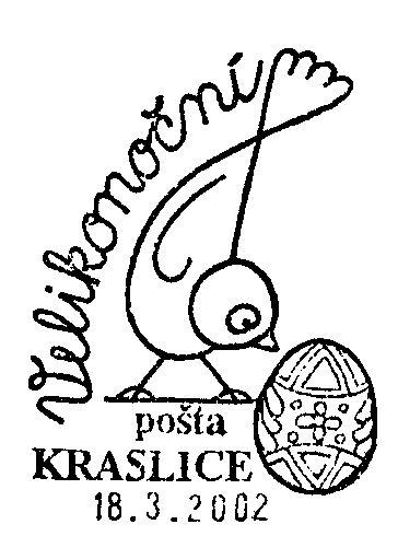 Velikonoční pošta Kraslice 2002