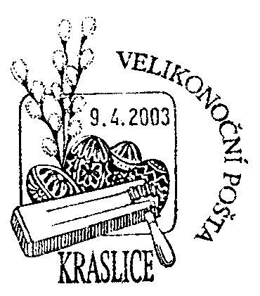 Velikonoční pošta Kraslice 2003