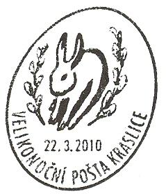 Velikonoční pošta Kraslice 2010