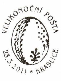 Velikonoční pošta Kraslice 2011