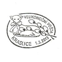 Velikonoční pošta Kraslice 2013