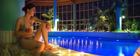 Večerní romantické plavání